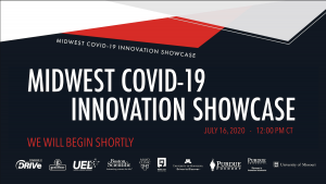 COVID Showcase title screen