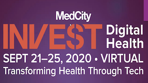 slide showing MedCity INVEST title screen
